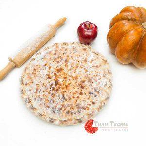 Пирог с тыквой и яблоком